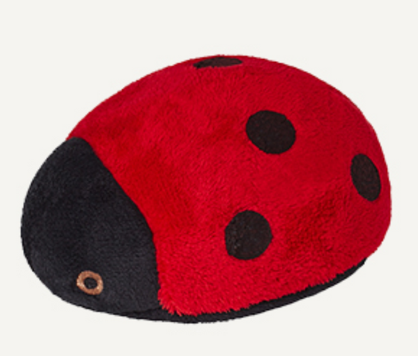 "Fluff & Tuff Lady Bug 4 1/2"" Dog Toy"