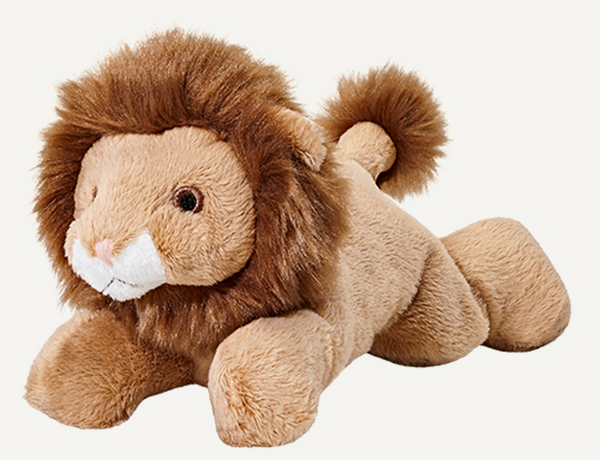 "Fluff & Tuff Leo Lion 7"" Dog Toy"