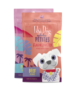 Tiki Pet Aloha Petites Flavor Booster Bisque 1.5oz Dog Food Pouch - Paw Naturals