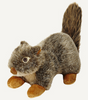"Fluff & Tuff Nuts Squirrel 12"" Dog Toy"