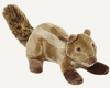 "Fluff & Tuff Peanut Chipmunk 7"" Dog Toy"