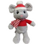 Lulubelles Lester Mouse Holiday Plush Toy