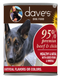 Dave's Pet Food 95% Premium Meats Beef Chicken 13oz Canned Dog Food