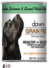 Dave's Pet Food Grain-Free Chicken Salmon Sweet Potato 13.2oz Canned Dog Food - Paw Naturals