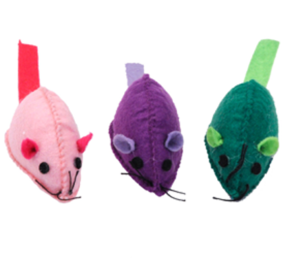 Coastal Pet Turbo Felt Mouse Cat Toy