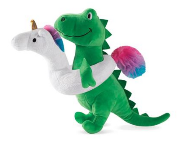 Pet Shop By Fringe Studio Pool Time Rex Plush Dog Toy