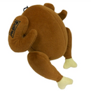 Lulubelles Power Plush Turkey Dog Toy