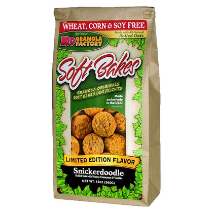 K9 Granola Factory Soft Bakes Dog Biscuit Snickerdoodle - Paw Naturals