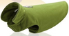 Sparky & Co Wrap Jacket In Soft Warm Fleece Green / XSmall - Paw Naturals