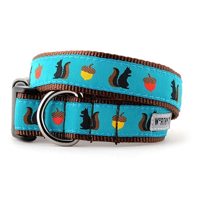 The Worthy Dog Squirrelly Collar & Lead Collection Cat Collar - Paw Naturals
