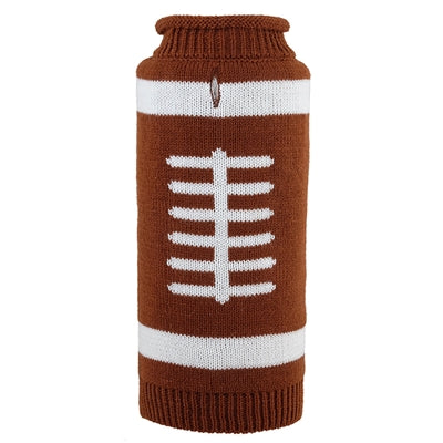 The Worthy Dog Touchdown Roll Neck Sweater