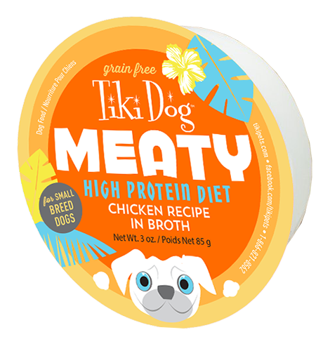 Tiki Pet Meaty High Protein Diet Canned Dog Food