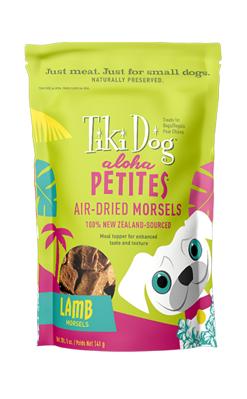 Tiki Pet Aloha Petites Air-Dried Lamb Morsel Treat & Meal Topper 5oz