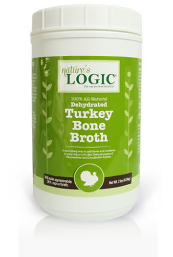 Nature's Logic Dog Dehydrated Bone Broth Turkey 12oz