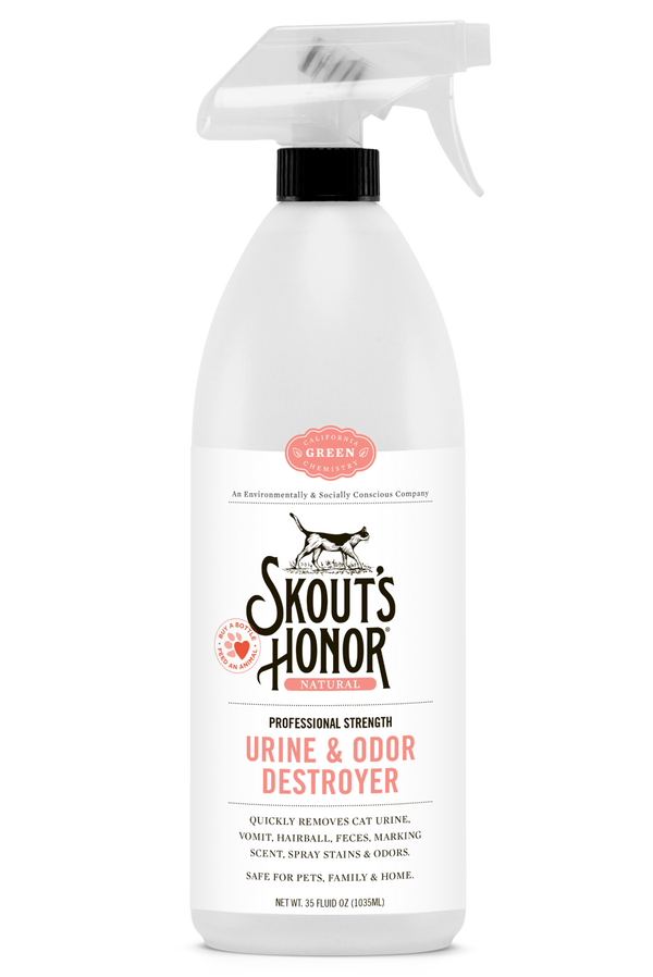 Skout's Honor Cat Urine & Odor Destroyer Spray 35oz