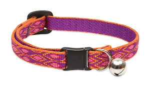 Lupine Alpen Glow Safety Cat Collar With Bell 812""