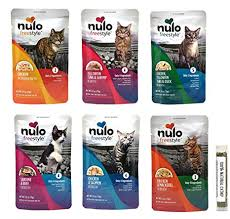 Nulo Freestyle Grain-Free Natural Food Compliment Cat Treat 2.8oz - Paw Naturals