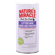 Nature's Miracle Just For Cats Litter Box Odor Destroyer Powder 20oz