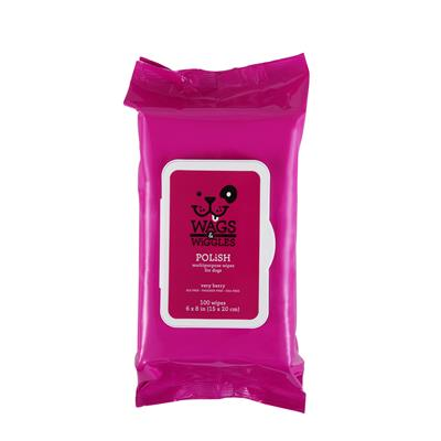 Wags & Wiggles Polish Multipurpose Wipes 100ct - Paw Naturals