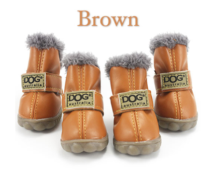 Sparky & Co Waterproof Warm Dog Ugg Boots Brown / Small - Paw Naturals