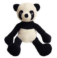 fab dog Floppy Panda Plush Dog Toy