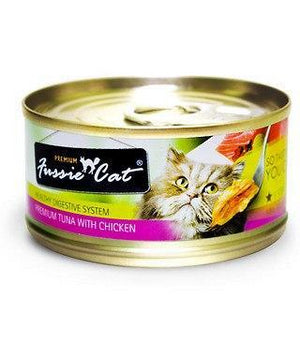 Fussie Cat Tuna With Chicken 2.82oz Canned Cat Food