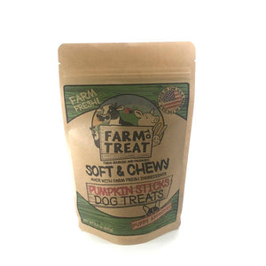Craft Made Co. Pumpkin Grain-Free Chew Sticks Dog Treat