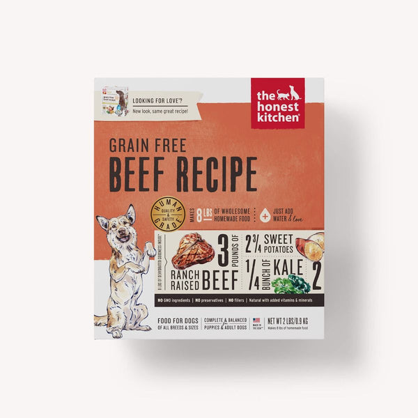 Honest Kitchen Grain-Free Beef Dehydrated Dog Food