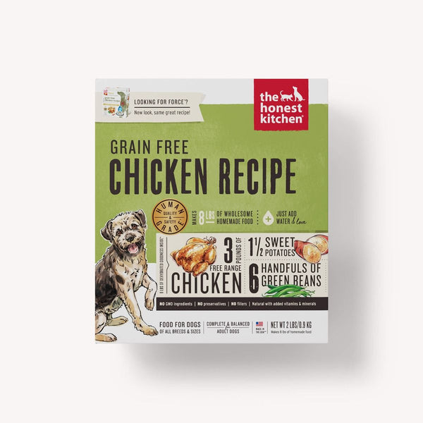 Honest Kitchen Grain-Free Chicken Dehydrated Dog Food