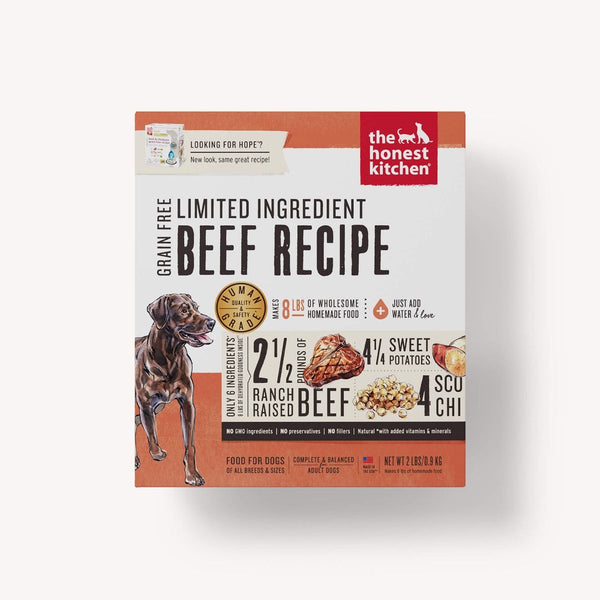 Honest Kitchen Limited Ingredient Grain-Free Beef Dehydrated Dog Food