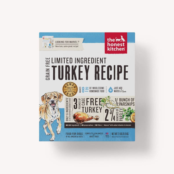 Honest Kitchen Limited Ingredient Grain-Free Turkey Dehydrated Dog Food