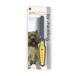 Jw Grip Soft Deshedding Comb