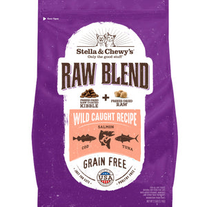 Stella & Chewy's Raw Blend Wild Caught Recipe Dry Cat Food