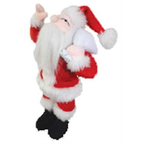 VIP Jr. Santa Dog Toy