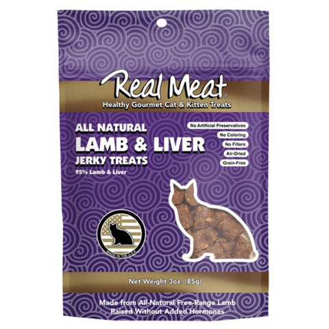 The Real Meat Company Lamb & Liver Cat Treats 3oz