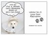 Dog Speak Cone Free Birthday Card - Paw Naturals