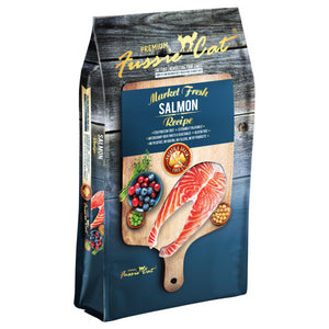 Fussie Cat Market Fresh Salmon Meal Dry Cat Food