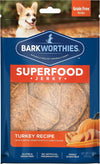 Barkworthies Superfood Jerky Turkey, Pumpkin, Sweet Potato & Carrot 4oz
