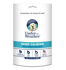 Under the Weather Hemp Soft Chews Calm 120g 30ct for Dogs