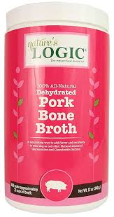 Nature's Logic Dog Dehydrated Bone Broth Pork 12oz