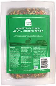 Open Farm Gently Cooked Frozen Dog Food 8oz / Homestead Turkey - Paw Naturals