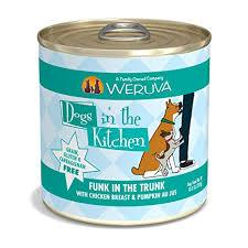 Weruva Dogs In The Kitchen Wet Dog Food Can Funk In The Trunk 10oz Can - Paw Naturals