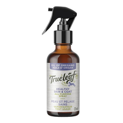 True Leaf Oil of Oregano Healthy Skin & Coat All Purpose Spray 100mL - Paw Naturals