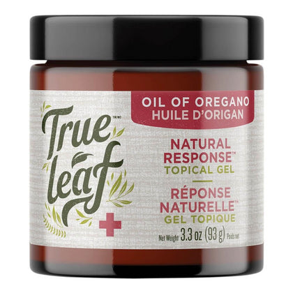 True Leaf Oil of Oregano Natural Response Topical Gel 100mL - Paw Naturals