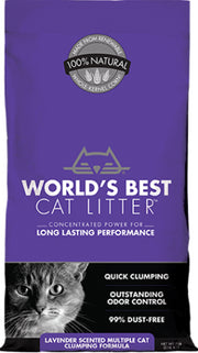 World's Best Cat Litter Lavender Scented 8lb