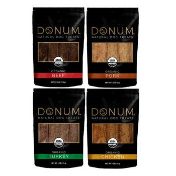 Donum Naturals USDA Organic Jerky Dog Treats 4oz