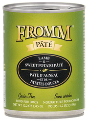 Fromm Grain Free Gold Lamb & Sweet Potato Pate 12oz Canned Dog Food