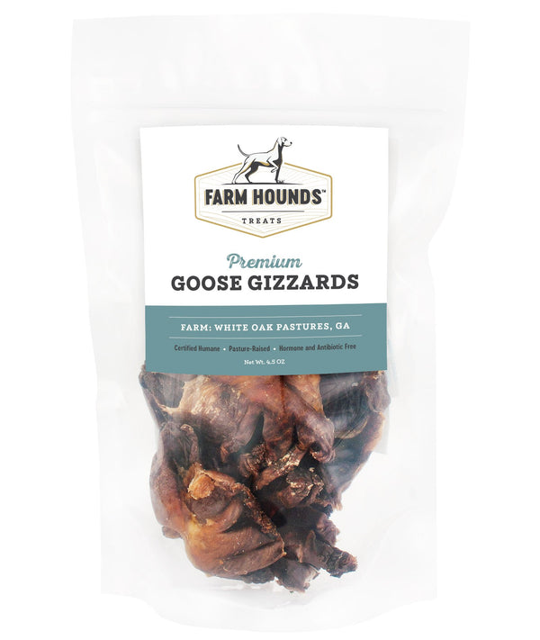 Farm Hounds Goose Gizzards 4.5oz Dog Treat