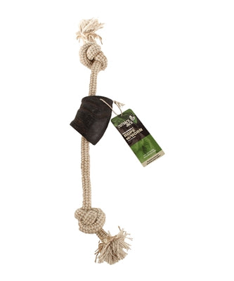 Outback Jack Rope with Horn Dog Toy - Paw Naturals