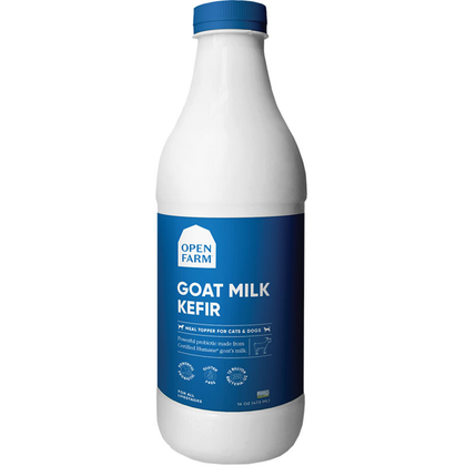 Open Farm Goat's Milk Organic Raw Frozen Kefir with Turmeric/Cinnamon for Dogs & Cats